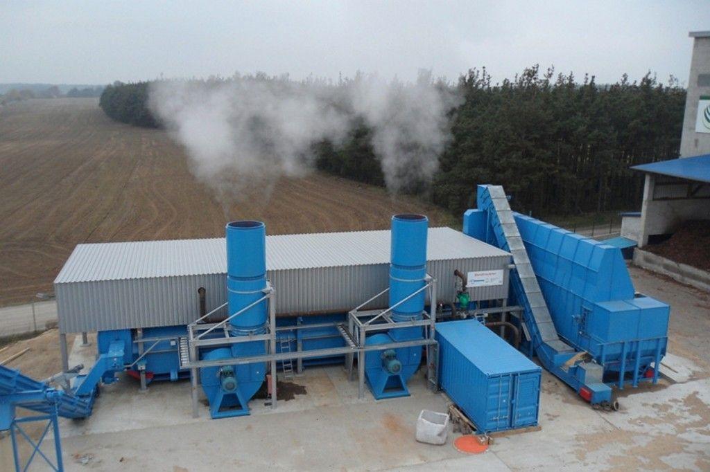 Uscatoare biomasa tip Banda
