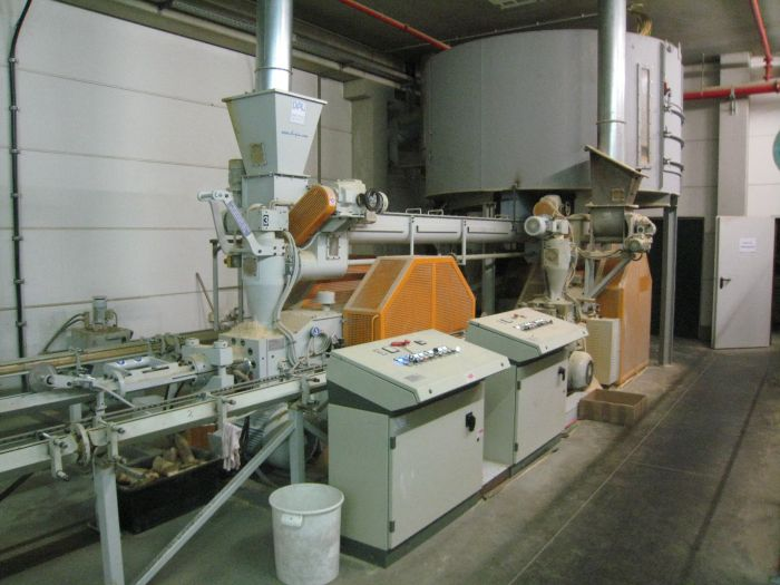 Linie brichetare Brik model MB 90