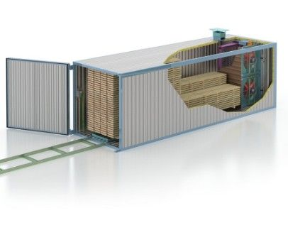Camere uscare cherestea mobila model MOBILE LINE