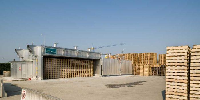Camere de tratament termic pentru paleti PALLET LINE