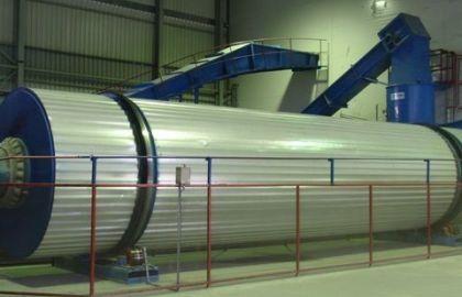 Uscatoare biomasa tip Tambur