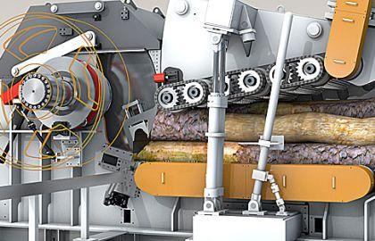 Tocatoare industriale de lemn stationare